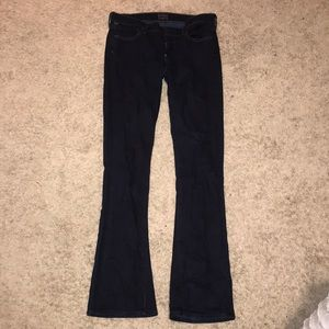 Citizens of Humanity Slim Bootcut Dark wash jeans